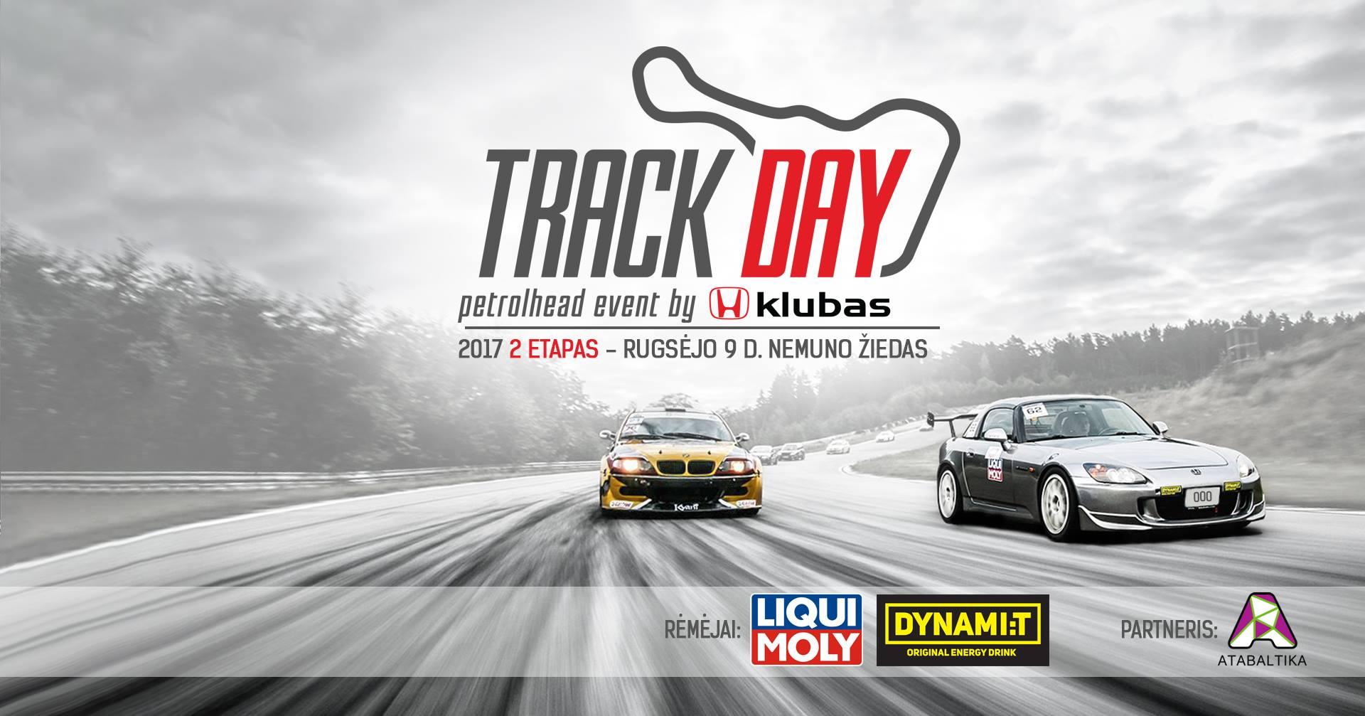 Trackday. Petrolhead event by Honda klubas