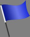 Šviesiai mėlyna vėliava